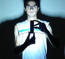 me & Blackout by miladyellow