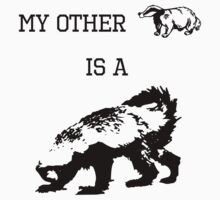 My Other Badger Is A Honey Badger Kids Clothes