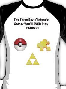 Nintendo's Best Three Games T-Shirt
