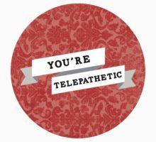You're Telepathetic by fallingjaegers