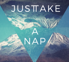 Just Take A Nap Sticker