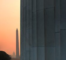 Three Icons - Washington D.C. by Jim Sells