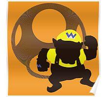 Wario (Mario) - Sunset Shores Poster