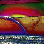 Rainbow Universe -Available In Art Prints-Mugs,Cases,Duvets,T Shirts,Stickers,etc by Robert Burns