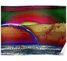 Rainbow Universe -Available In Art Prints-Mugs,Cases,Duvets,T Shirts,Stickers,etc Poster