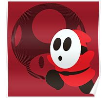 Shy Guy - Sunset Shores Poster
