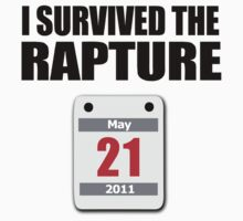 I Survived The Rapture (May 2011) Kids Clothes