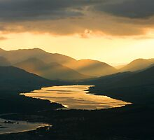 Sunset on Loch Eil by dsargent