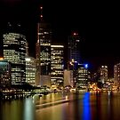 Brisbane City Lights by Sue Wilson (Kane)