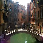 Venice City and Canal by Honor Kyne