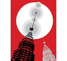 Towers of Asia Photographic Print