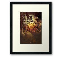 Commandment 1 - No Other Gods Framed Print