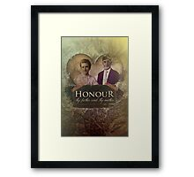 Commandment 5 - Honor Father and Mother Framed Print