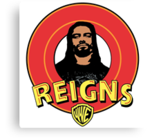 Looney Reigns (Logo) Canvas Print