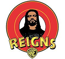 Looney Reigns (Logo) Photographic Print