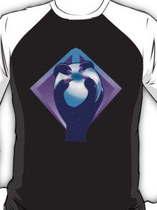 Purple Talon hand with a white silver ORB T-Shirt
