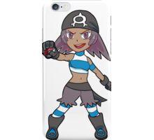 Aqua Grunt Female iPhone Case/Skin