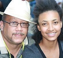 Greg Freeman and Esperanza Spaulding by Charles Ezra Ferrell - PhotoARTgraphy