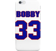 National football player Bobby Jack jersey 33 iPhone Case/Skin
