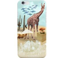 Green and breathing Planet iPhone Case/Skin