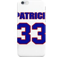 National football player Patrick Egu jersey 33 iPhone Case/Skin