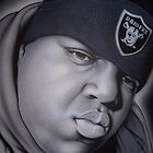 Biggie b&amp;w by billy v_