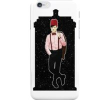 Eleventh Doctor and The TARDIS iPhone Case/Skin