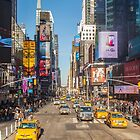 Times Square NYC by Ron Finkel
