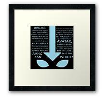 The Last Airbender  Framed Print