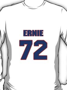 National football player Ernie Price jersey 72 T-Shirt
