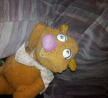 Battered Fozzie Bear. by Peter Allton