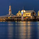 Blue Night - Geelong by Hans Kawitzki