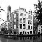 Oudegracht (Old Canal) Utrecht, The Netherlands by M. van Oostrum