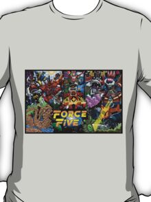 The Force Of Five T-Shirt