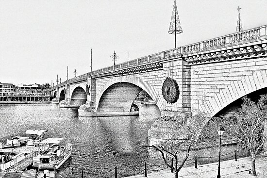 London Bridge, Lake Havasu City, Arizona  by Christine Till  @    CT-Graphics