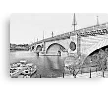 London Bridge, Lake Havasu City, Arizona  Canvas Print