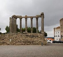 Temple of Diana, Evora, Portugal by chord0