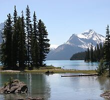 Spirit Island, Jasper NP, Alberta, Canada by Silvoto