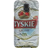 Tyskie - Crushed Tin Samsung Galaxy Case/Skin