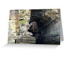 Tasmanian waters with arch Greeting Card