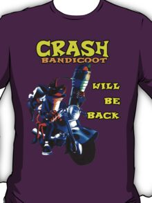 Terminator Crash Bandicoot T-Shirt