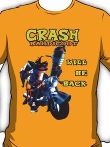 Terminator Crash Bandicoot T-Shirt
