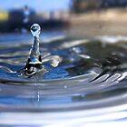 Metallic Water Drop by Jeff Harris