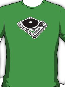 Turntable. T-Shirt