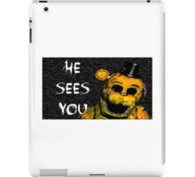 Five NIghts at Freddy's - Golden iPad Case/Skin