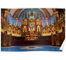 Notre Dame de Montreal I Poster