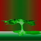 Green Rain by mindprintz