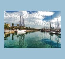 Yachts and Palm Trees - Impressions of Barcelona  Kids Clothes