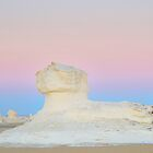 White Desert Sphinx, Egypt by Luke Martin