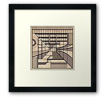 Birmingham Central Library Framed Print